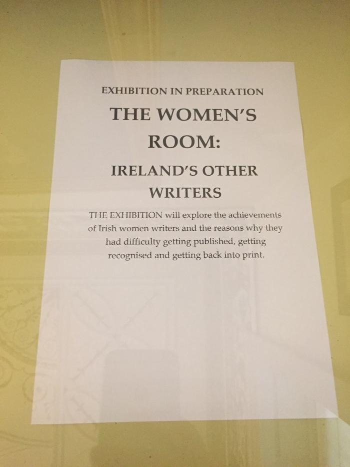 the women's room dublin writers museum