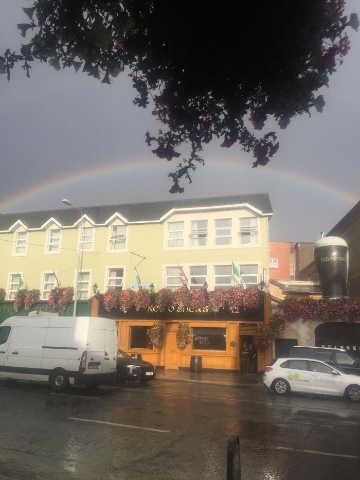 rainbow in dublin